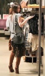Megan Fox Shopping For Some Christmas Gifts For Herself At