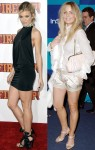 Who has the nicer legs? AnnaLynne McCord vs. Melissa George (HQ's)