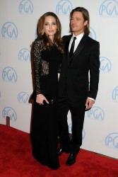 Анджелина Джоли, фото 7468. Angelina Jolie - Producers Guild awards, january 21, foto 7468