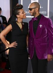 Алиша Киз (Алисия Кис), фото 3019. Alicia Keys 54th annual Grammy Awards - 12/02/2012 - Red Carpet, foto 3019