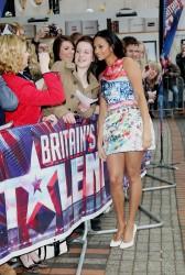Алеша Диксон, фото 254. Alesha Dixon 'Britains Got Talent' auditions, Feb 17, foto 254