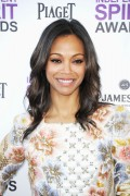 Зои Салдана, фото 2379. Zoe Saldana 2012 Film Independent Spirit Awards in Santa Monica - February 25, 2012, foto 2379