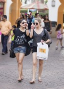 Эшли Бенсон, фото 377. Ashley Benson at Busch Gardens in Tampa Bay 03/03/12*with Vanessa Hudgens, foto 377,