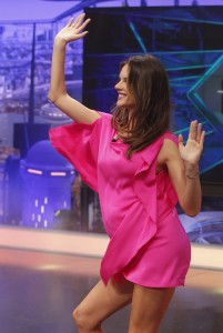 Алессандра Амброзио, фото 8165. Alessandra Ambrosio On 'El Hormiguero' TV Show in Madrid, 05.03.2012, foto 8165