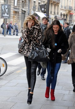 Abbey Clancy Out in Paris 7th March x15