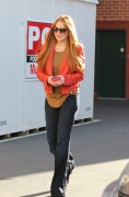 Линдси Лохан, фото 23096. Lindsay Lohan - out and about in Beverly Hills 03/08/12, foto 23096