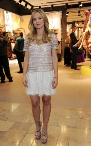 Кристен Белл, фото 8396. Kristen Bell Topshop Topman Store Opening in Las Vegas, 08.03.2012, foto 8396