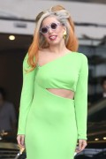 Lady Gaga Arriving at Songshan Airport in Taipei, Taiwan 16th May x7
