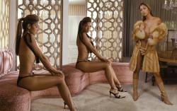 Nicole Scherzinger, Michelle Hunziker, Mena Suvari, Maria Menounos (Wallpaper) 6x