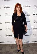 Christina Hendricks - Jaguar Playboy VIP Reception in Pebble Beach 08/17/12