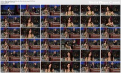Mary-Louise Parker @ Late Show with David Letterman | August 21 2012
