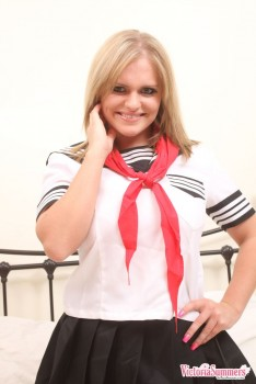 Rubia exhuberante Vicky Summers 16k Fotos P7